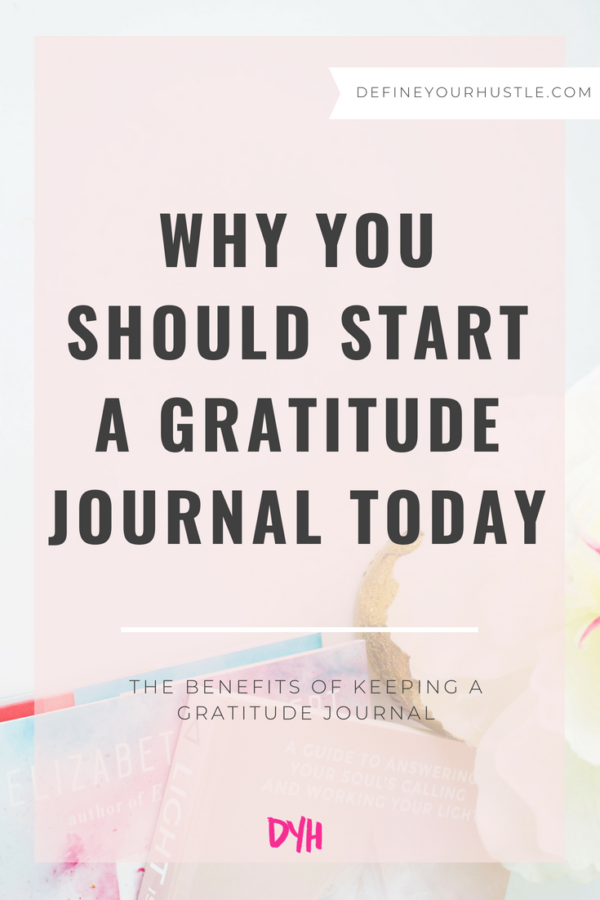 Why You Should Start a Gratitude Journal Today