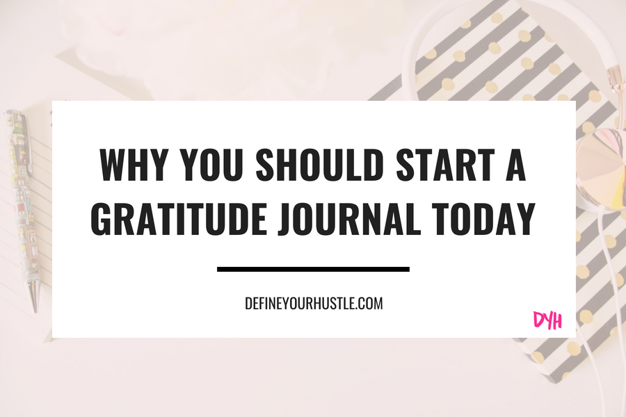 5 Reasons to Start a Gratitude Journal Today