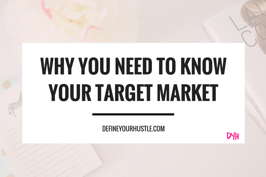 why you need to know your target market