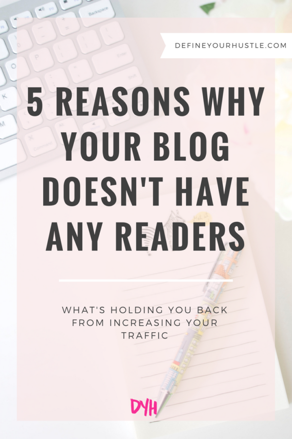 blog doesn't have any readers