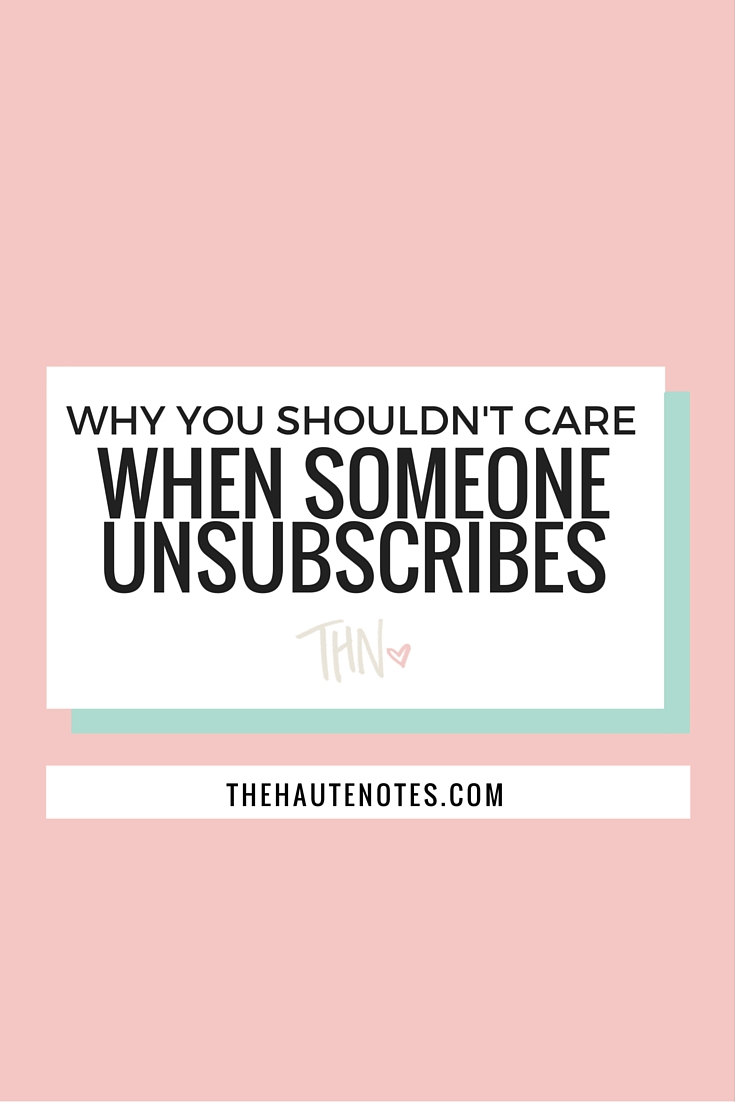 email list, how to build your email list, when someone unsubscribes from your email list