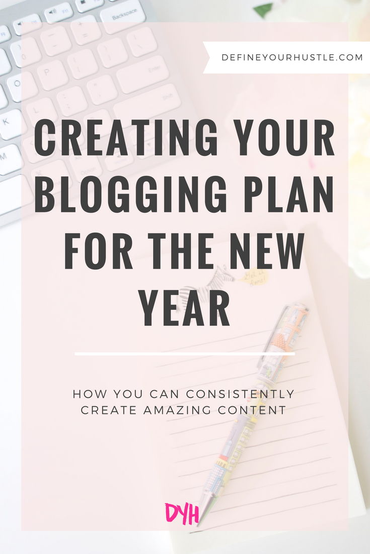 creating your blogging plan, how to create a blogging plan, content plan for bloggers