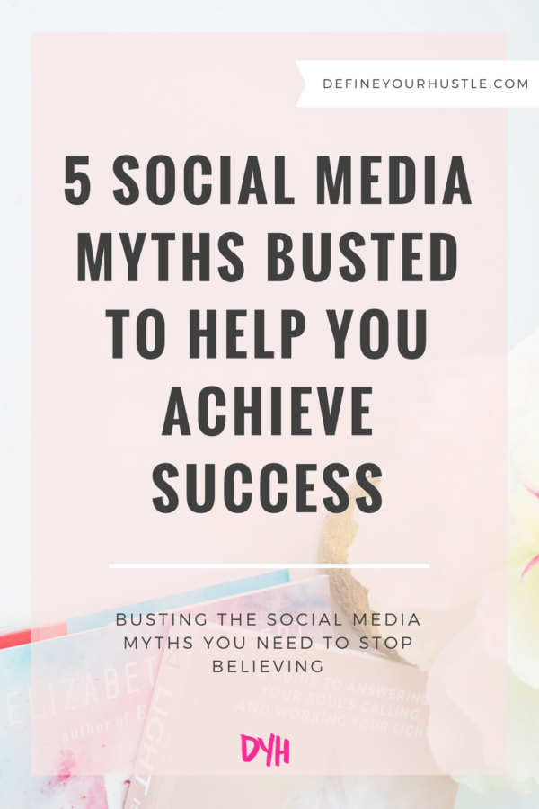 5 Social Media Myths Busted