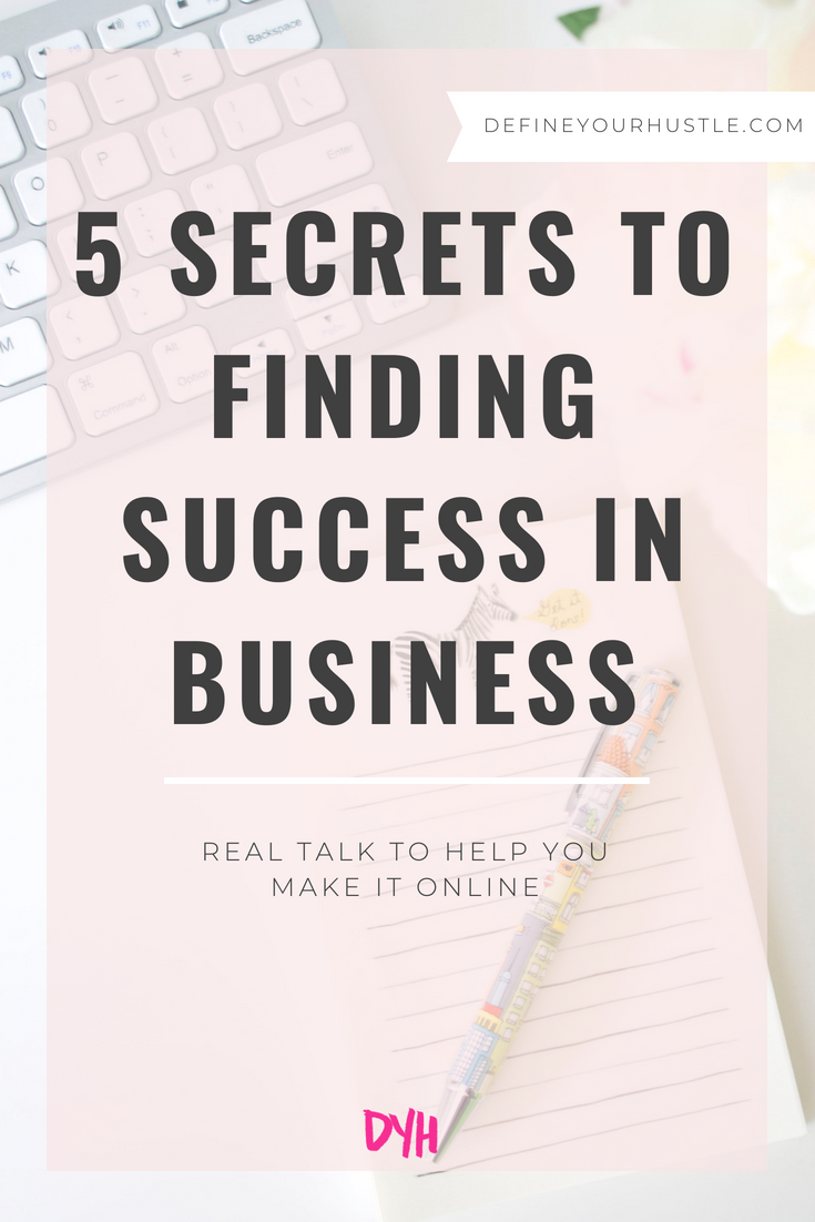 finding success in business, business success tips