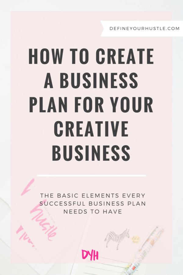 How to Create a Business Plan for Your Creative Business