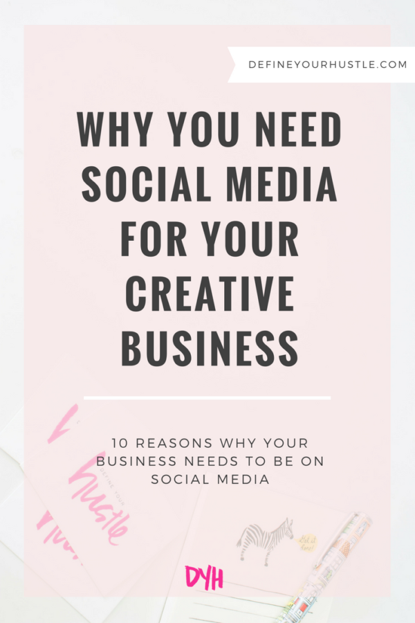 Why You Need Social Media for Your Creative Business