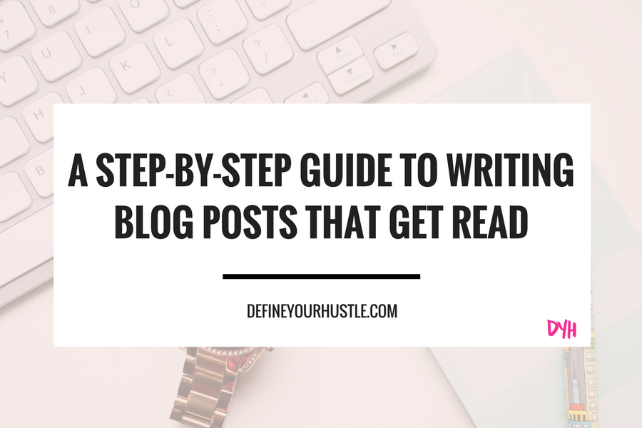 writing blog posts, how to write a blog post
