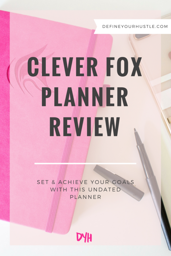 Clever Fox planner review