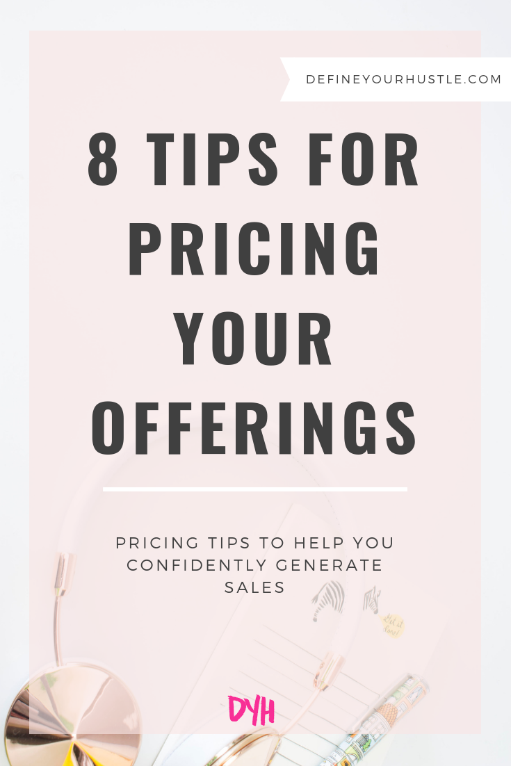 pricing your offerings