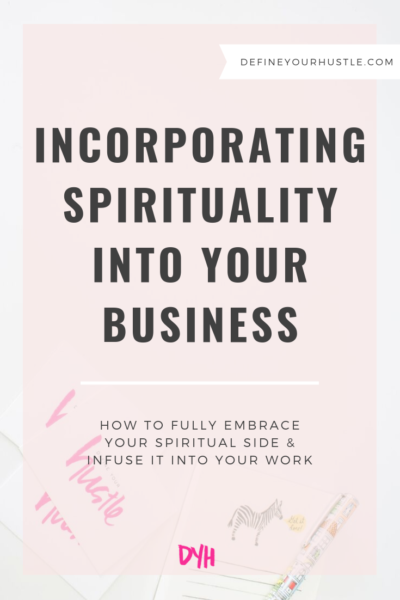 incorporating spirituality into your business