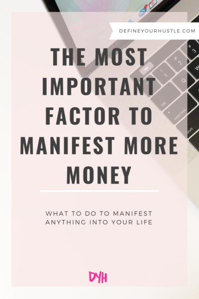 manifest more money