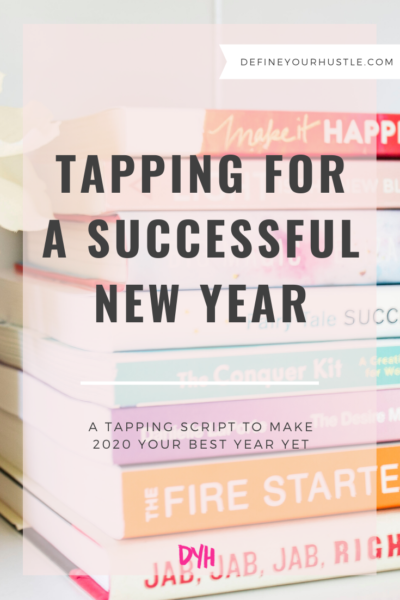 tapping for a successful new year